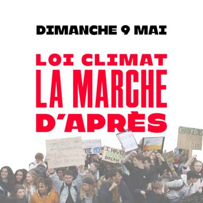 Marche pour une vraie loi climat @ haut des allées Jean Jaurès
